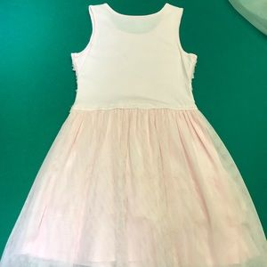 Children's Place Dresses - Girls Light Pink Pullover Dress. Excellent Cond.